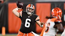 Baker Mayfield wins first battle with Joe Burrow as Browns top Bengals, but Burrow impresses, too
