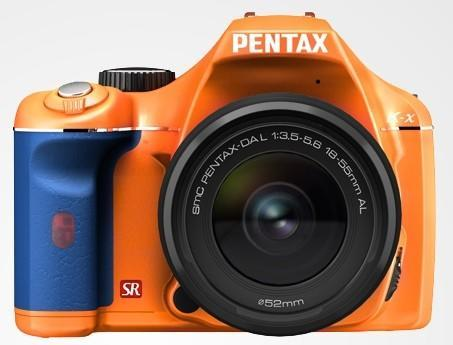 Pentax rolls its own colorware for the Pentax K-x DSLR