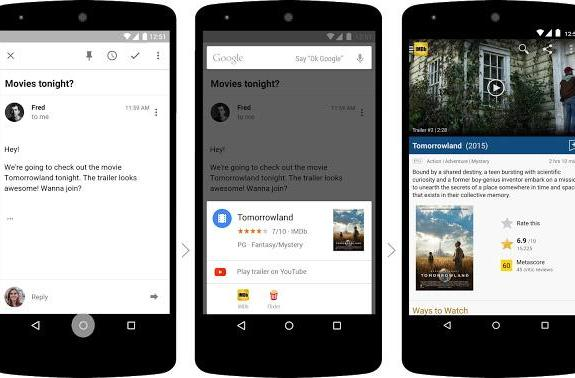 Google reveals Now on Tap, its canny new Android M concierge