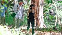 Angelina Jolie Wows in Low-Cut Camisole in Hawaii After Mastectomy