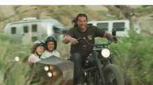 Jason Momoa Builds a 'Family Heirloom' Harley-Davidson with His Kids in Sweet Father's Day Video