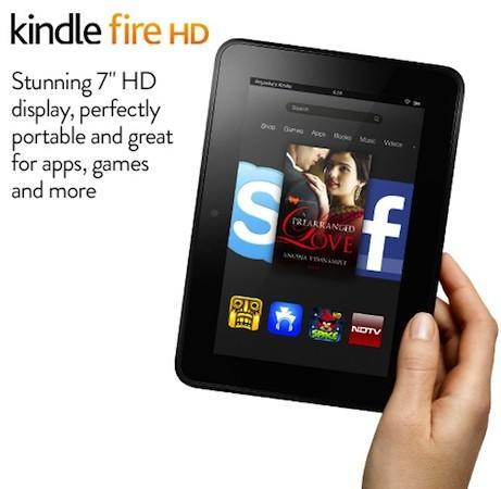 Amazon's bringing its Kindle Fire HD 7, 8.9 to India on June 27th