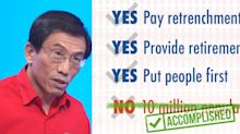 SDP removes 'No to 10m population' aim from GE2020 campaign after Heng Swee Keat's statement