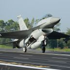 China says it will sanction US firms in Taiwan warplane sale
