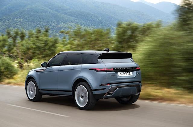 Range Rover's 2020 Evoque blends style with sustainability