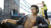 Life found a way: 25ft Jeff Goldblum statue unveiled in London