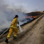 Israel strikes Gaza militant sites after incendiary balloons
