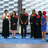 As a mother of a black son, here's my reaction to Hillary Clinton sharing the stage with the Mothers of the Movement