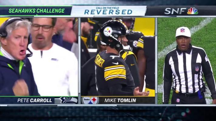 Seahawks vs. Steelers highlights Week 6