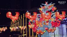 Chinatown lights up for Mid-Autumn Festival