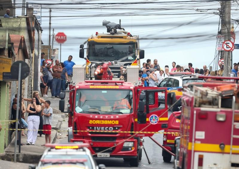 At Least 3 Dead After Plane Crashes on Residential Street in Brazil