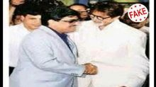 Fact Check: Did Amitabh Bachchan shake hands with Dawood Ibrahim