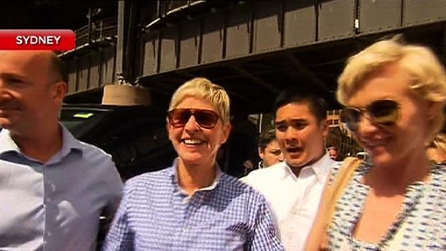 Ellen DeGeneres to meet fans