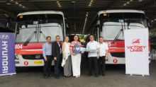 Hyundai PH Supplies Victory Liner with 20 Hyundai Universe Luxury Buses