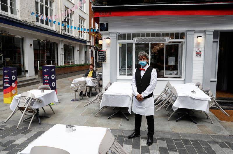 'Eat out to help out' - UK offers diners some tasty morsels