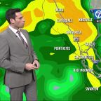 Accuweather Forecast: Wet again today, strongest storm tomorrow