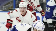 McElhinney leads Lightning to 3-1 win over Hurricanes