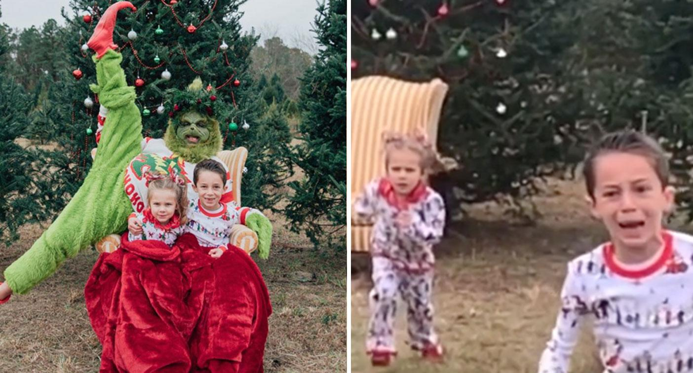 Christmas card photo goes horribly wrong thanks to mum's epic prank