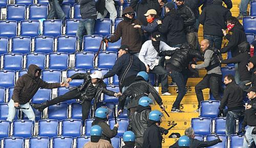 Serie A: Rund 20 Roma-Hooligans festgenommen