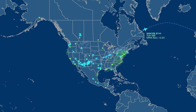 The Big Picture: Private jets swarm out of Arizona after the Super Bowl