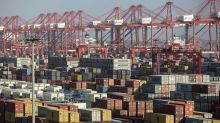 Asian markets fall as China reports slowdown in exports