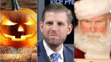 War On Halloween? Eric Trump Says We're Saying 'Merry Christmas' In October