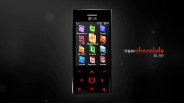 LG New Chocolate BL20 makes dramatic video debut