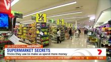 Tricks supermarkets use to get us to spend money