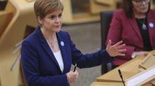 Sturgeon blasts Sunak's latest Covid-19 measures as 'unacceptable' to Scotland