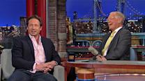 David Duchovny Returns to the X-Files - David Letterman
