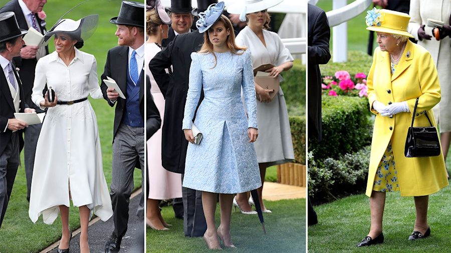 What the royal family wears to Ascot