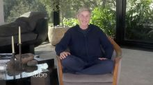 Ellen returns to TV from her living room with a hopeful message