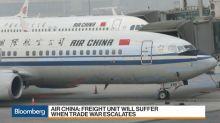 Air China Sees Cargo Rush Ahead of Next Tariffs