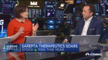 Sarepta Therapeutics CEO on soaring stock and drug develo...