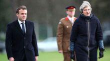 Macron hails UK defence cooperation, warns on single market post-Brexit