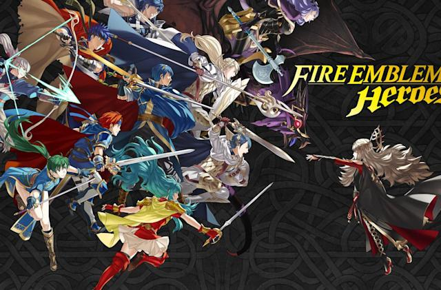 Nintendo's 'Fire Emblem Heroes' mobile game arrives next month (update)