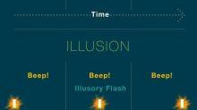 Científicos crean dos ilusiones sensoriales que te hacen viajar en el tiempo
