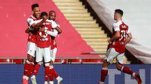 Aubameyang avoids future question but Arteta optimistic Arsenal's FA Cup hero will stay