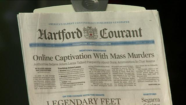 Courant Digs Into Newtown Gunman Adam Lanza`s Past