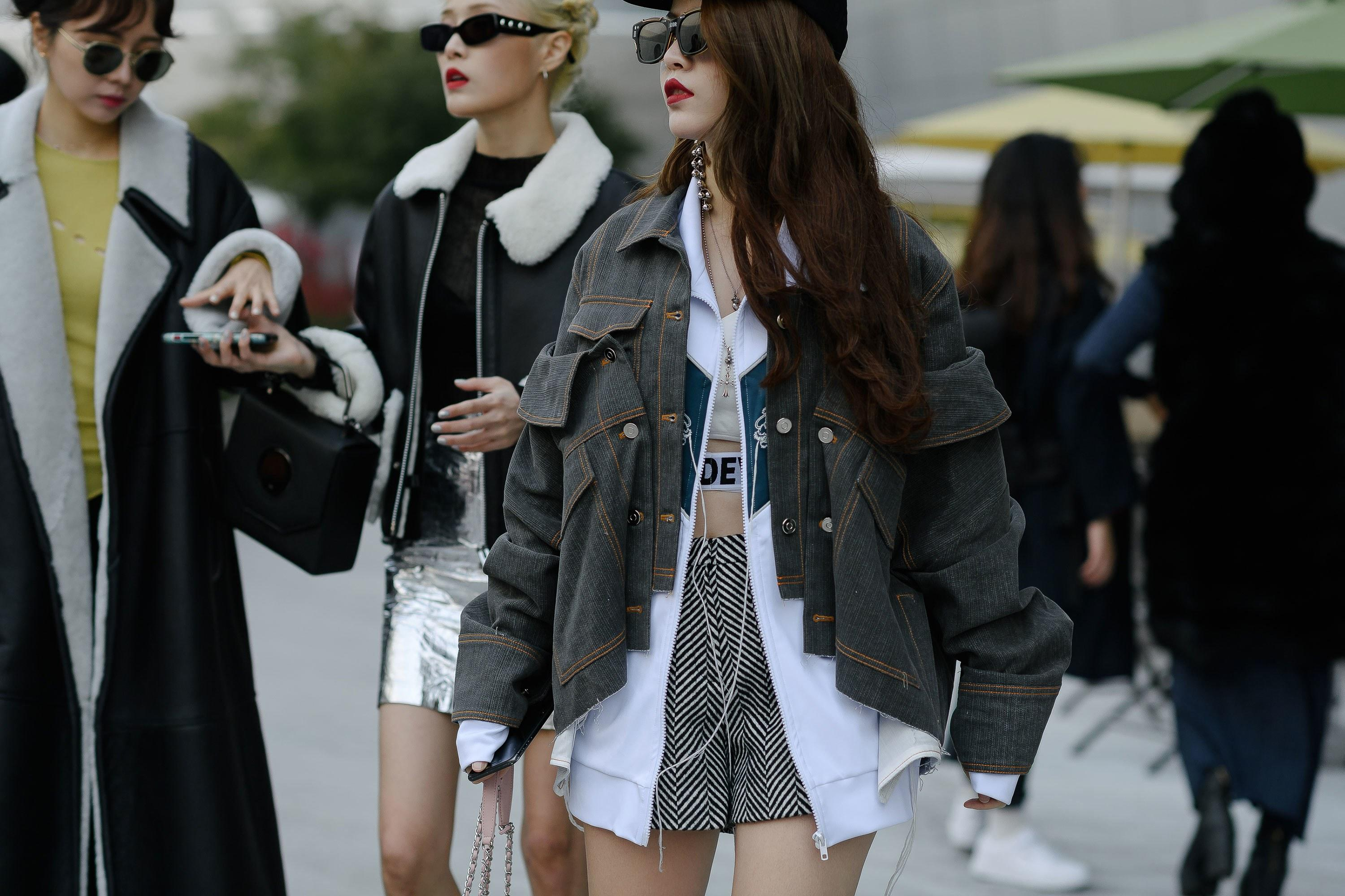 The Best Street Style From Seoul Fashion Week Spring 2019