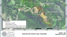 Zinc One Outlines Path Forward After Successful 2018 Drill Program at Bongará Zinc Mine Project, Peru