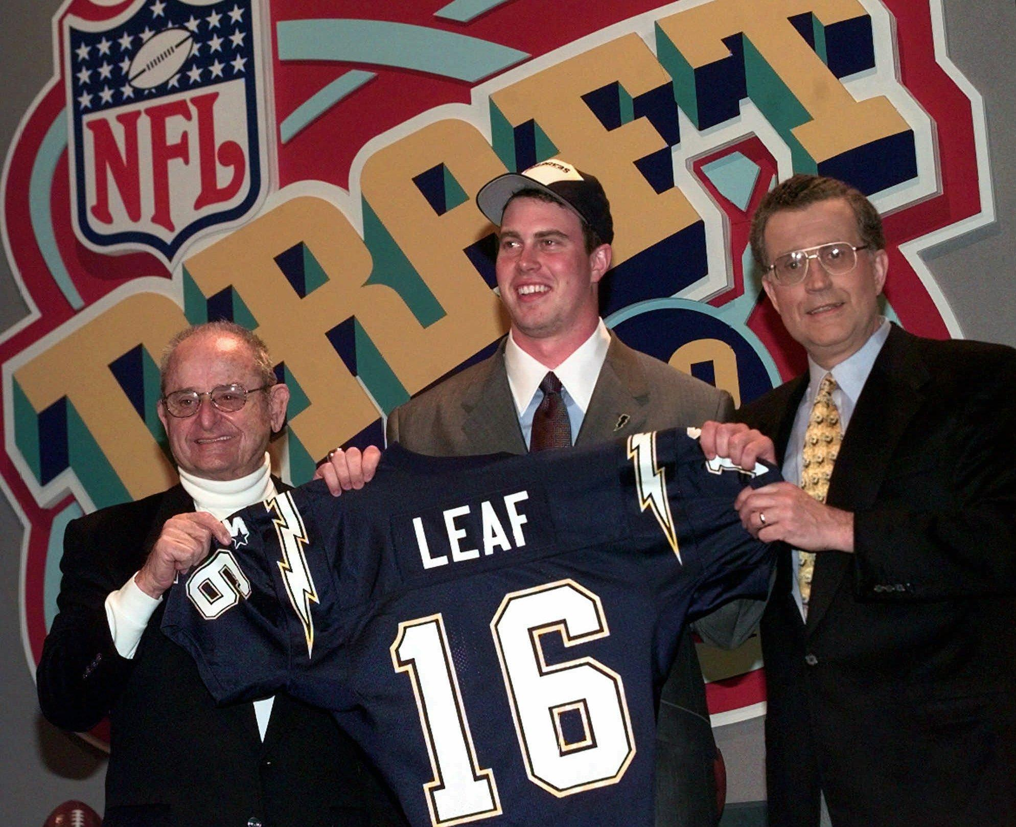 Ryan Leaf had the perfect response to ESPN analyst's surprising mock draft