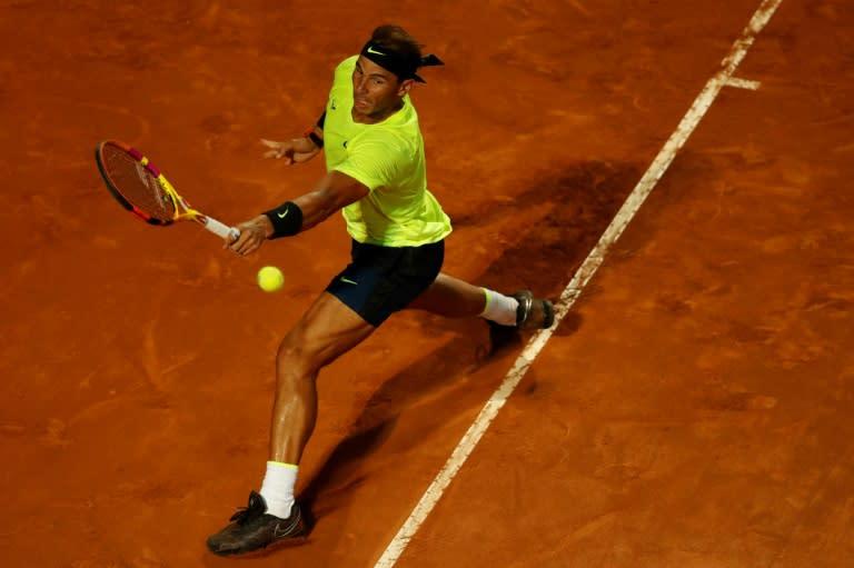 Djokovic, Nadal make winning returns in Rome