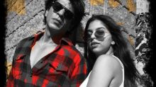 Shah Rukh Khan and Suhana Khan make for a stylish father-daughter duo in this picture