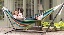 Give your outdoor space a spring update with this bestselling hammock