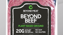 Beyond Meat pops on new 'ground beef' product