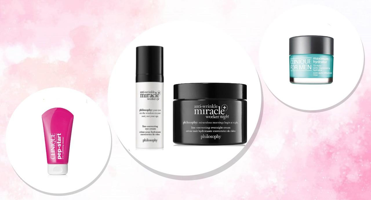 Want good skin? Get Philosophy anti-aging products and Clinique cleansers for 50 percent off at Ulta, today only!