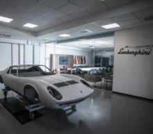 Inside Polo Storico - where classic Lamborghinis are reborn