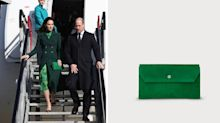 Kate Middleton arrives in Ireland looking gorgeous in green — and her cute clutch is on sale right now