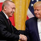 'Only for the oil': Amid tensions over Syria, Trump says he's a 'big fan' of Turkey's Erdogan